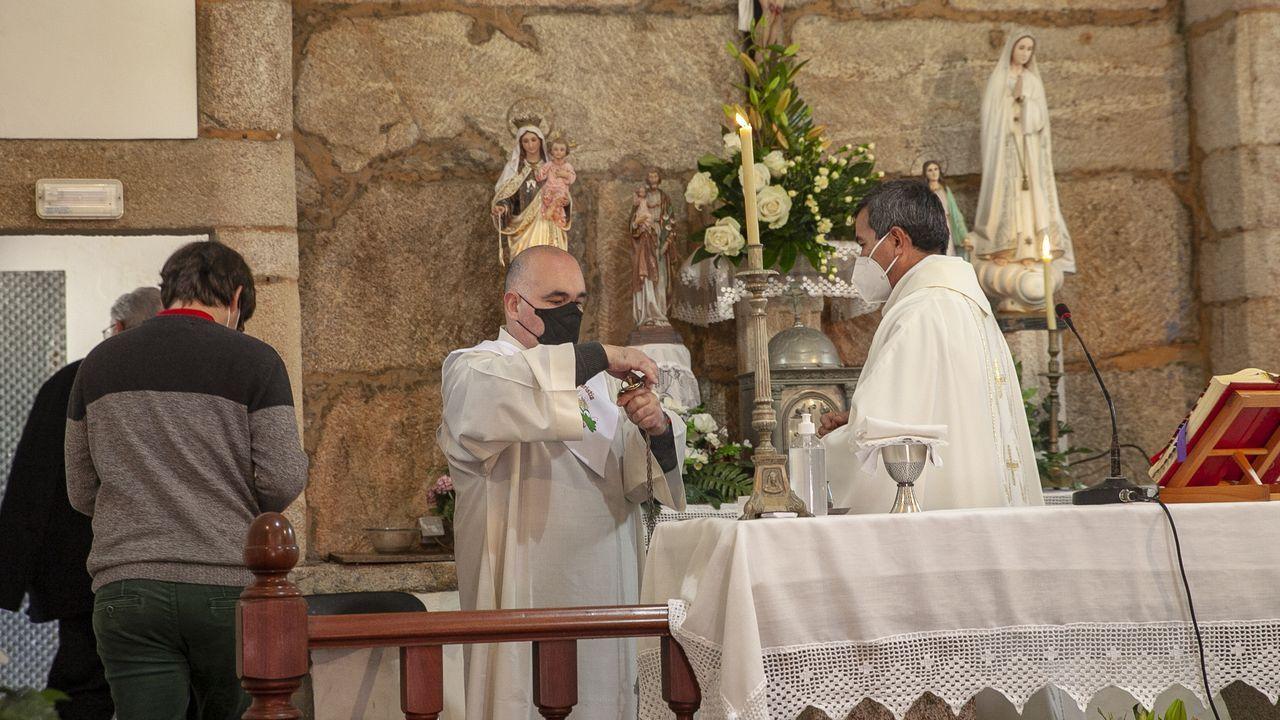 Los devotos regresaron a Seráns para honrar a San Benito