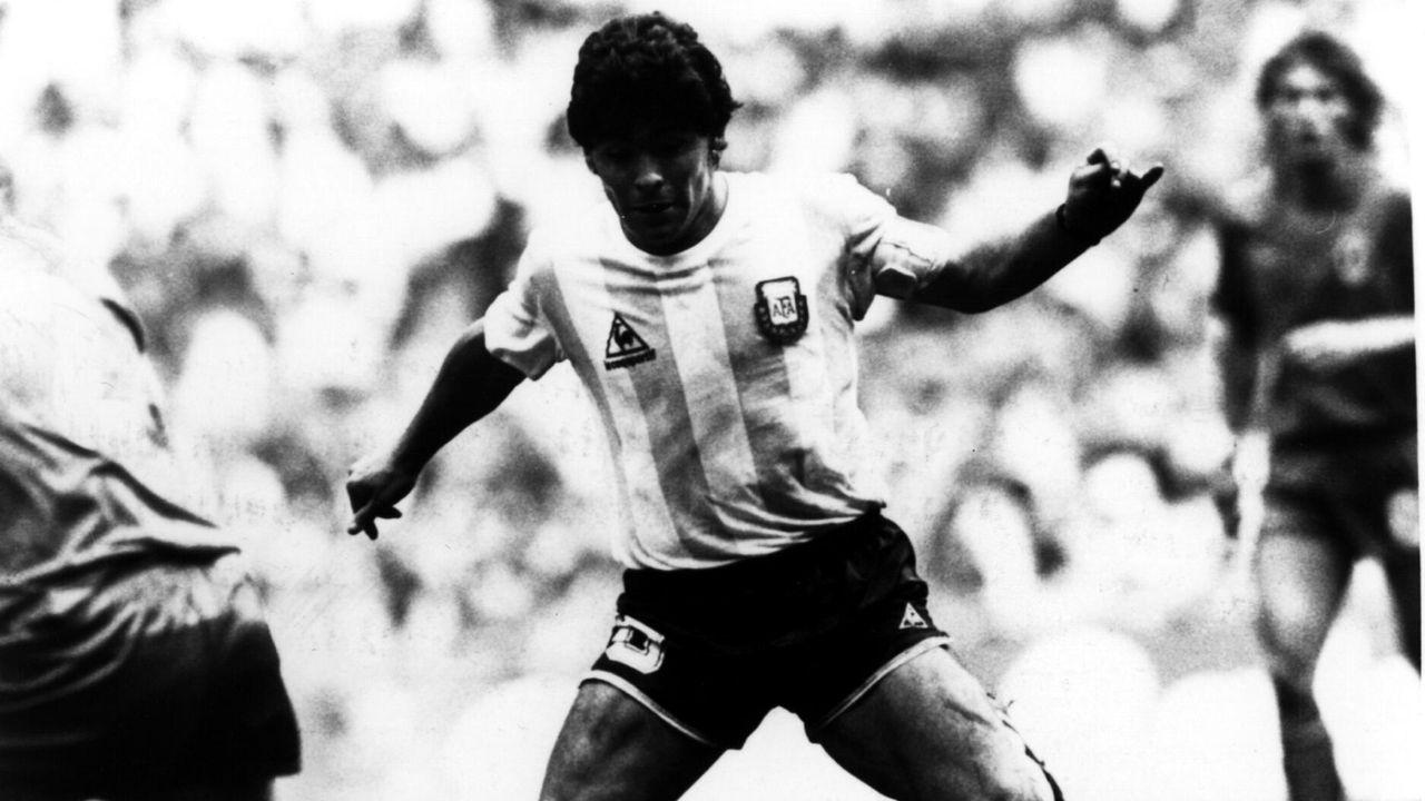 En un partido con Argentina en el Mundial de México 1986