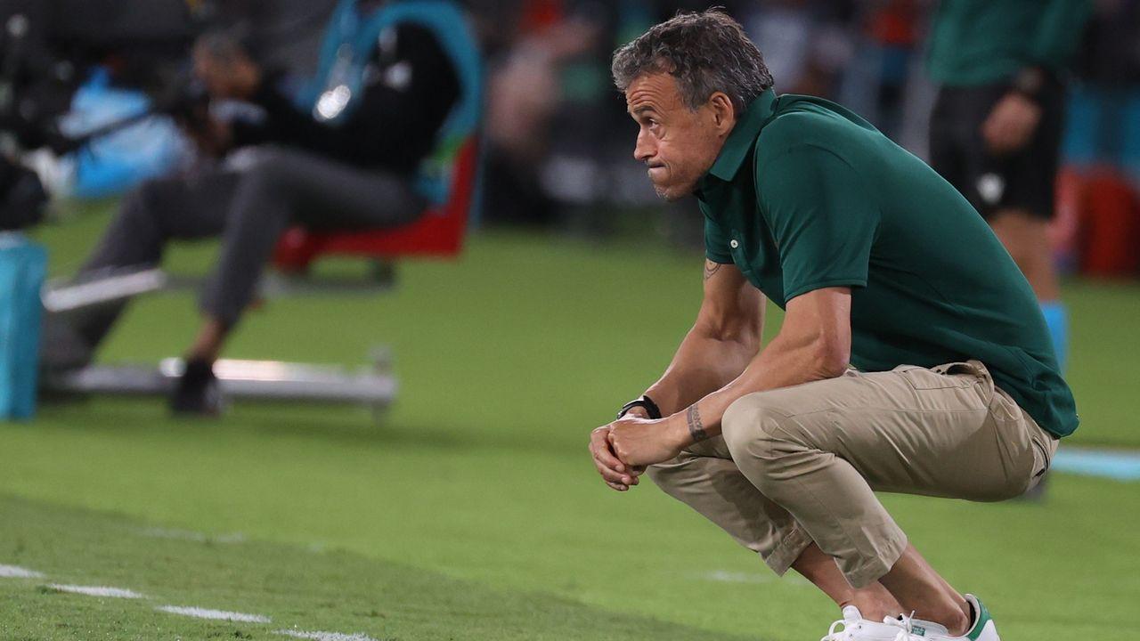 Luis Enrique Martínez, técnico de la selección española de fútbol