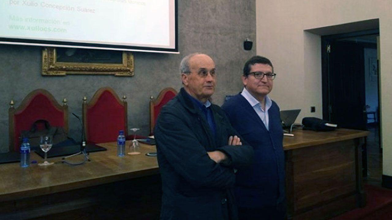 Xulio Concepción y Ramón D'Andrés