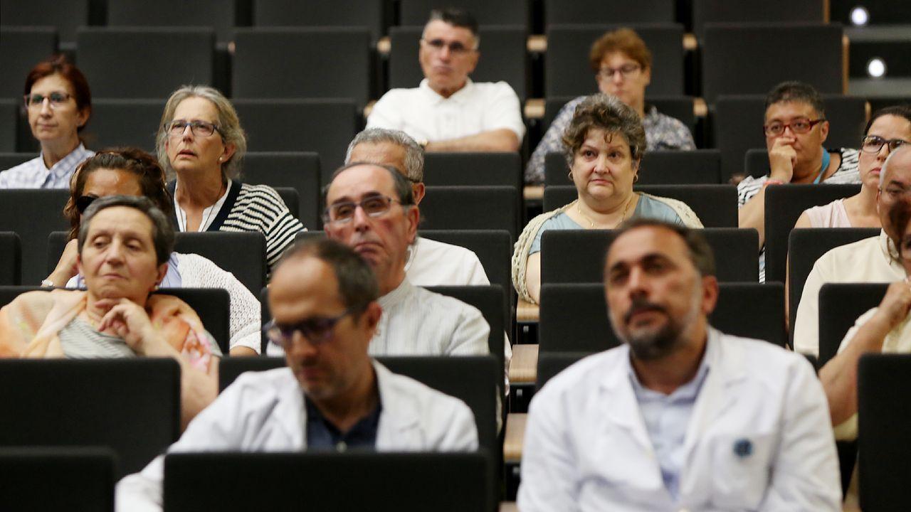 Celebración del día mundial del síndrome de Sjögren en el hospital Álvaro Cunqueiro