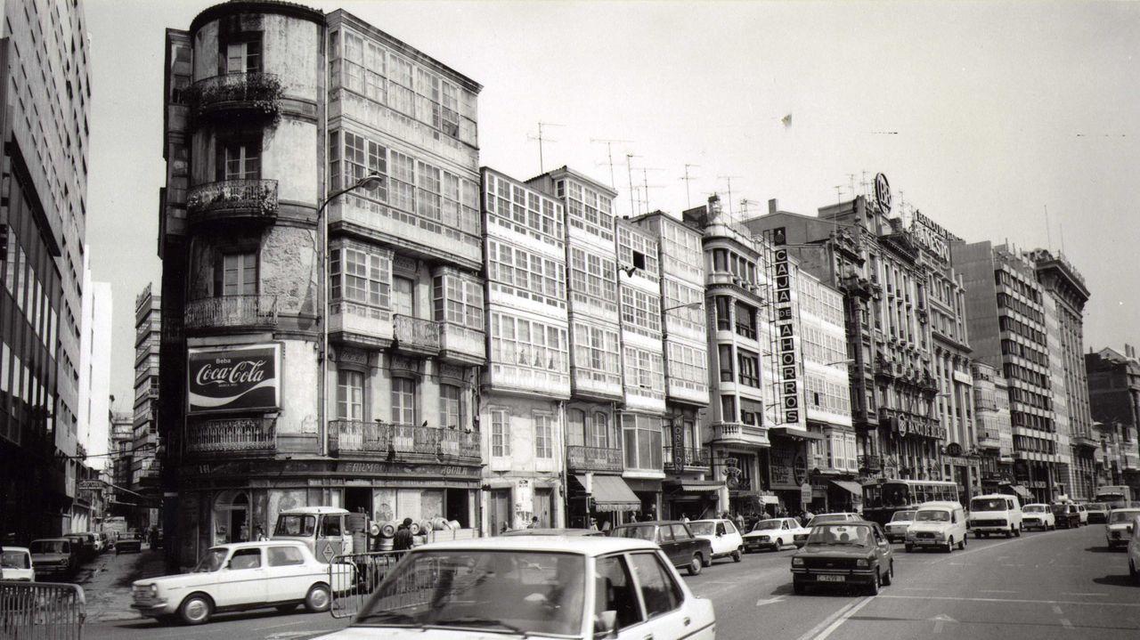 Entrada a la calle Alameda desde el Cantón Pequeño
