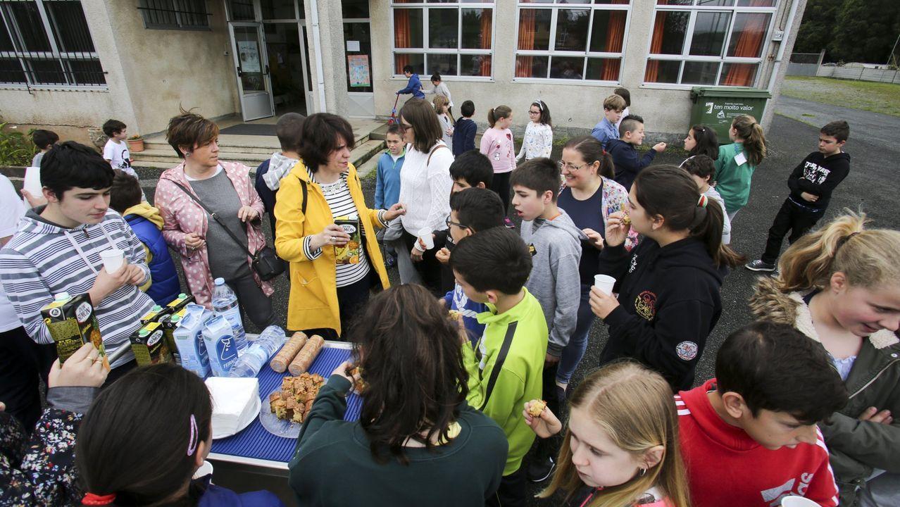 Imagen de archivo de una actividad desarrollada en el colegio de Moeche