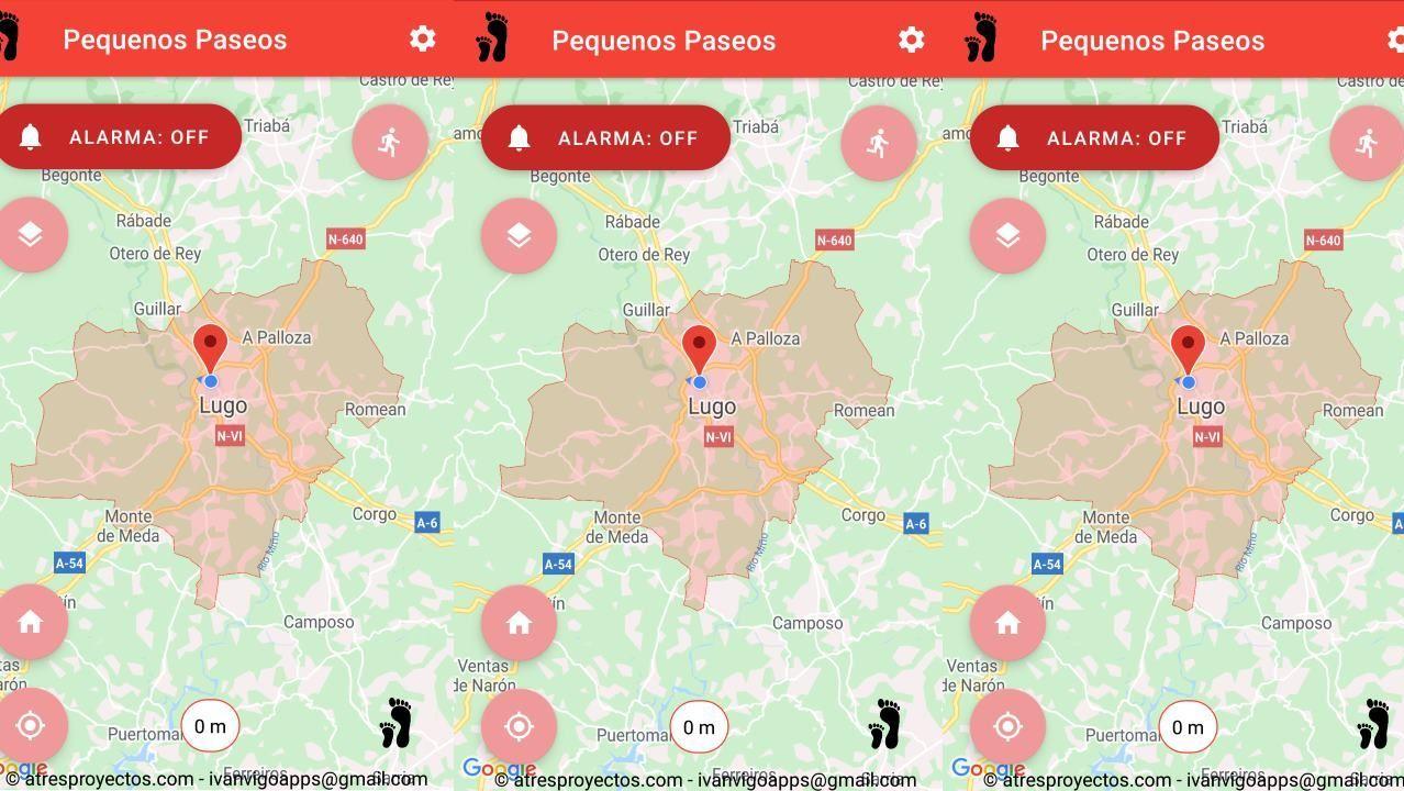 Ambiente de terrazas en Lugo en la fase 1.Aplicación Pequenos Paseos