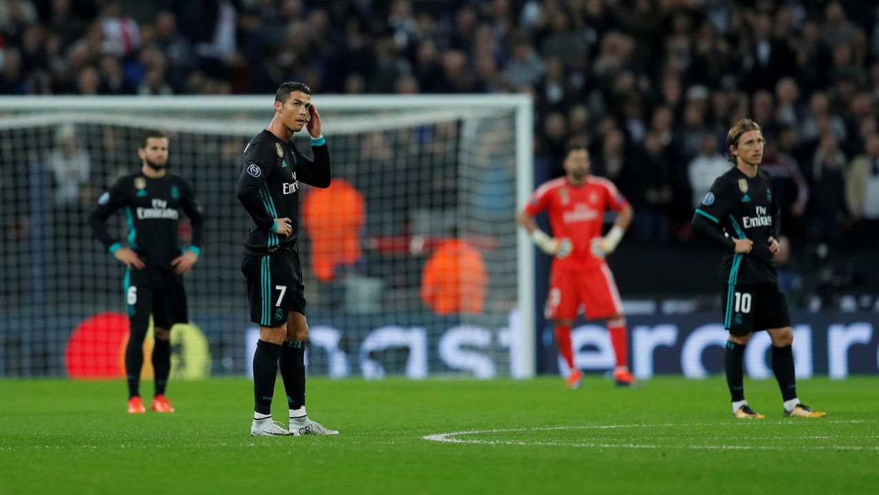 ElPSG - Real Madrid en imágenes
