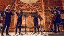 El Cuarteto Seikilos, en una actuación reciente.