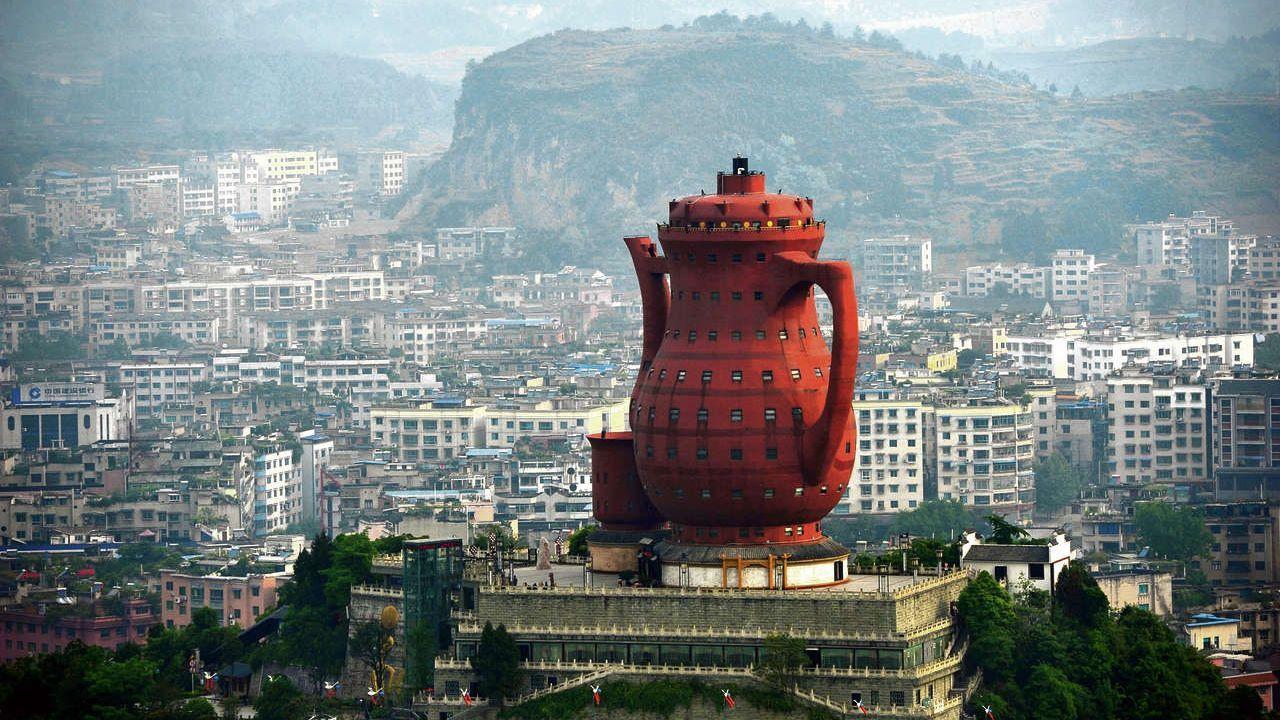 El museo del Té de Maitan, votado como uno de los edificios más feos.