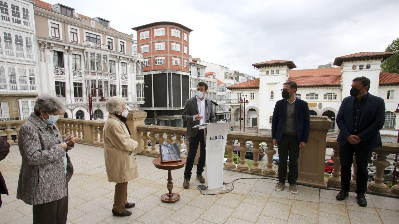 El cineasta francés Éric Rohmer, durante el rodaje de «Cuento de invierno»