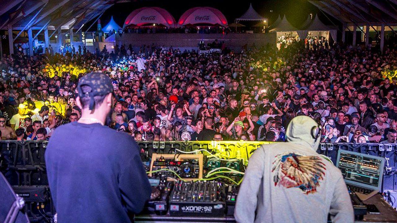 patrullera.Imagen de la edición pasada del festival de música electrónica de Arriondas