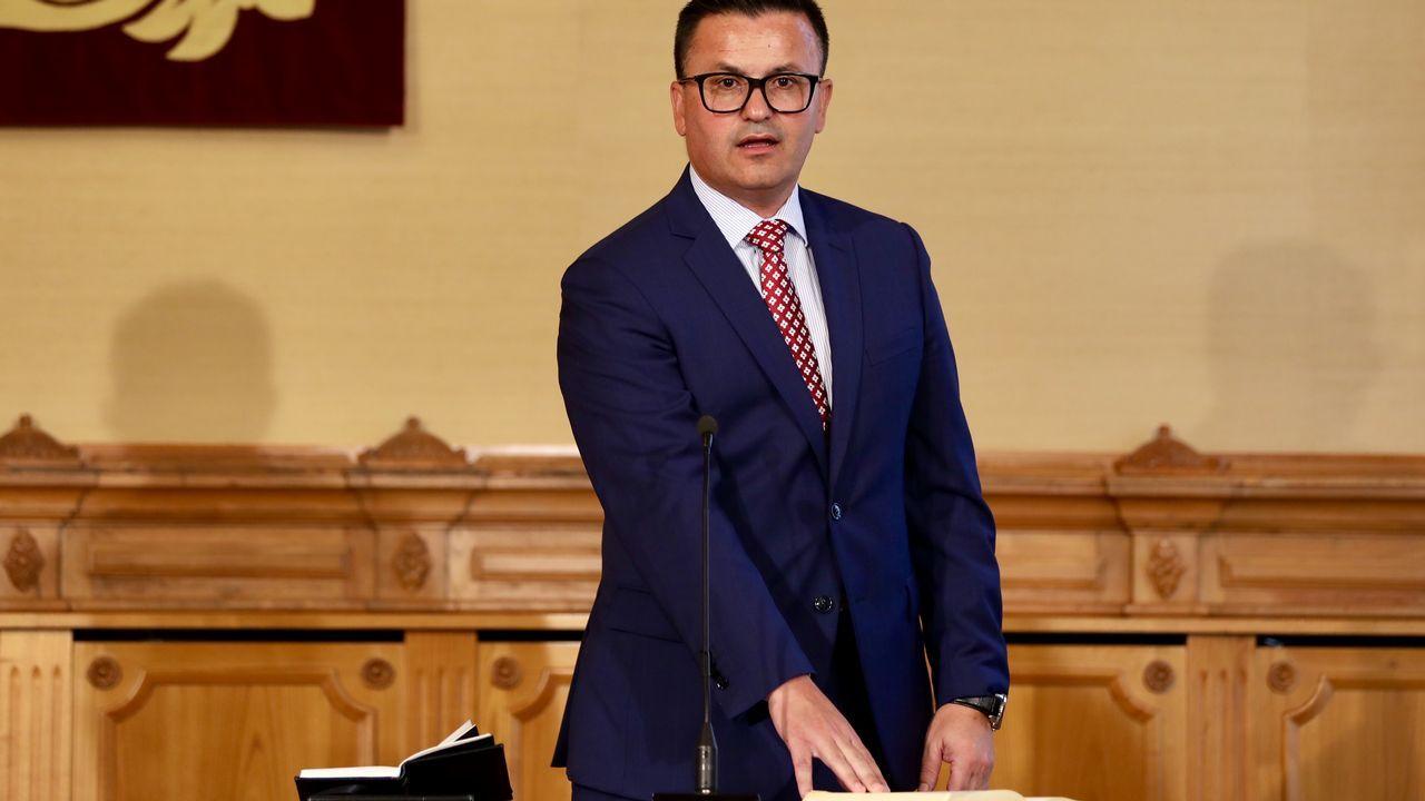 José González, nuevo conselleiro de Medio Rural. Diputado e inspector de Hacienda y experto en vinos.