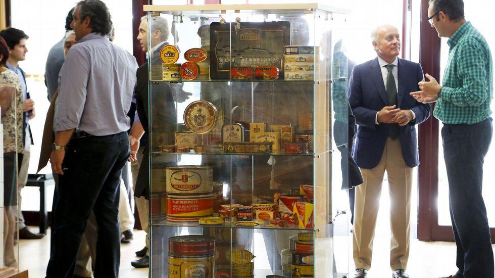 Anfaco celebró ayer el Día de la Conserva en su museo, y homenajeó a sus presidentes.