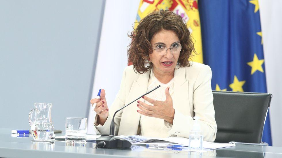 Comparecencia de María Jesús Montero tras el Consejo de Ministros