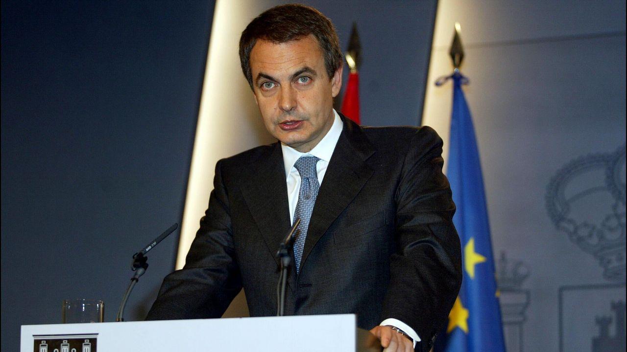 José Luis Rodríguez Zapatero (PSOE).José Luis Rodríguez Zapatero (PSOE). De abril de 2004 hasta diciembre de 2011. Fue presidente 2.811 días