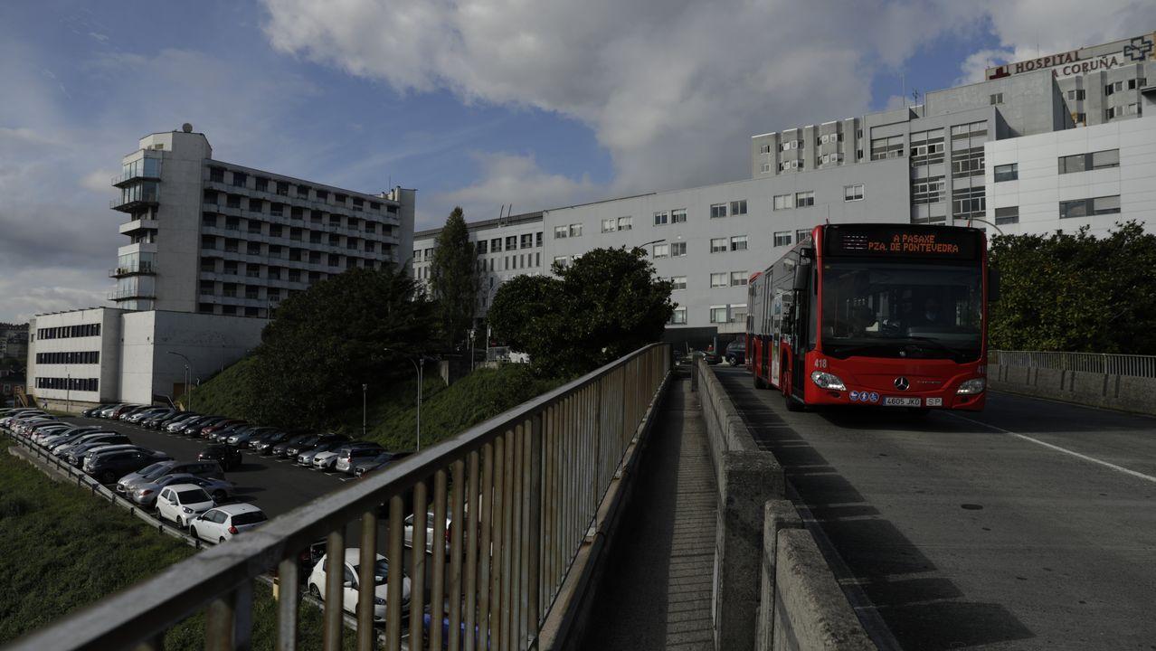 Toma de muestras para PCR en A Coruña
