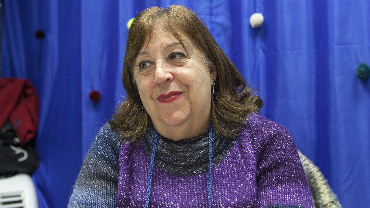 Pumarín.Pilar Rodríguez, de Entre lanas, hilos y botones