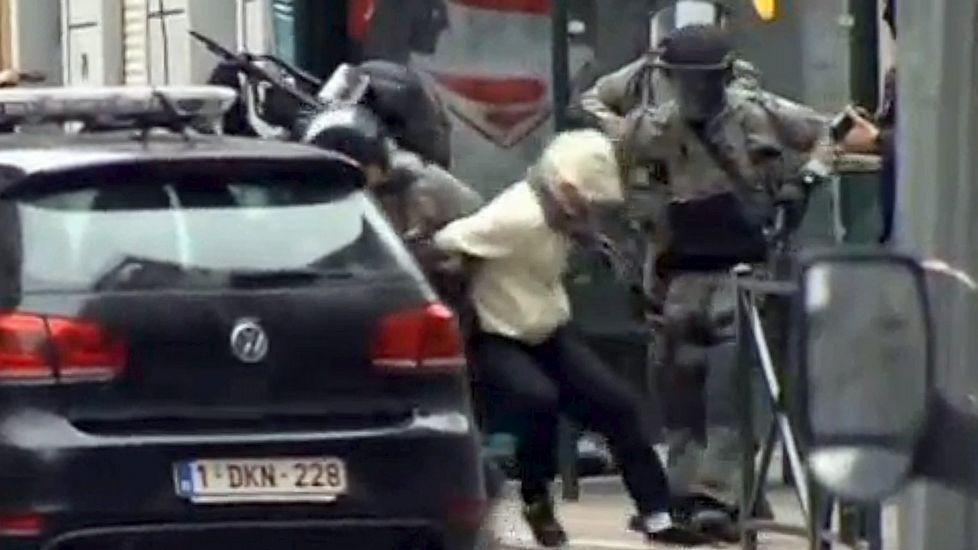 La espectacular detención de Salah Abdeslam