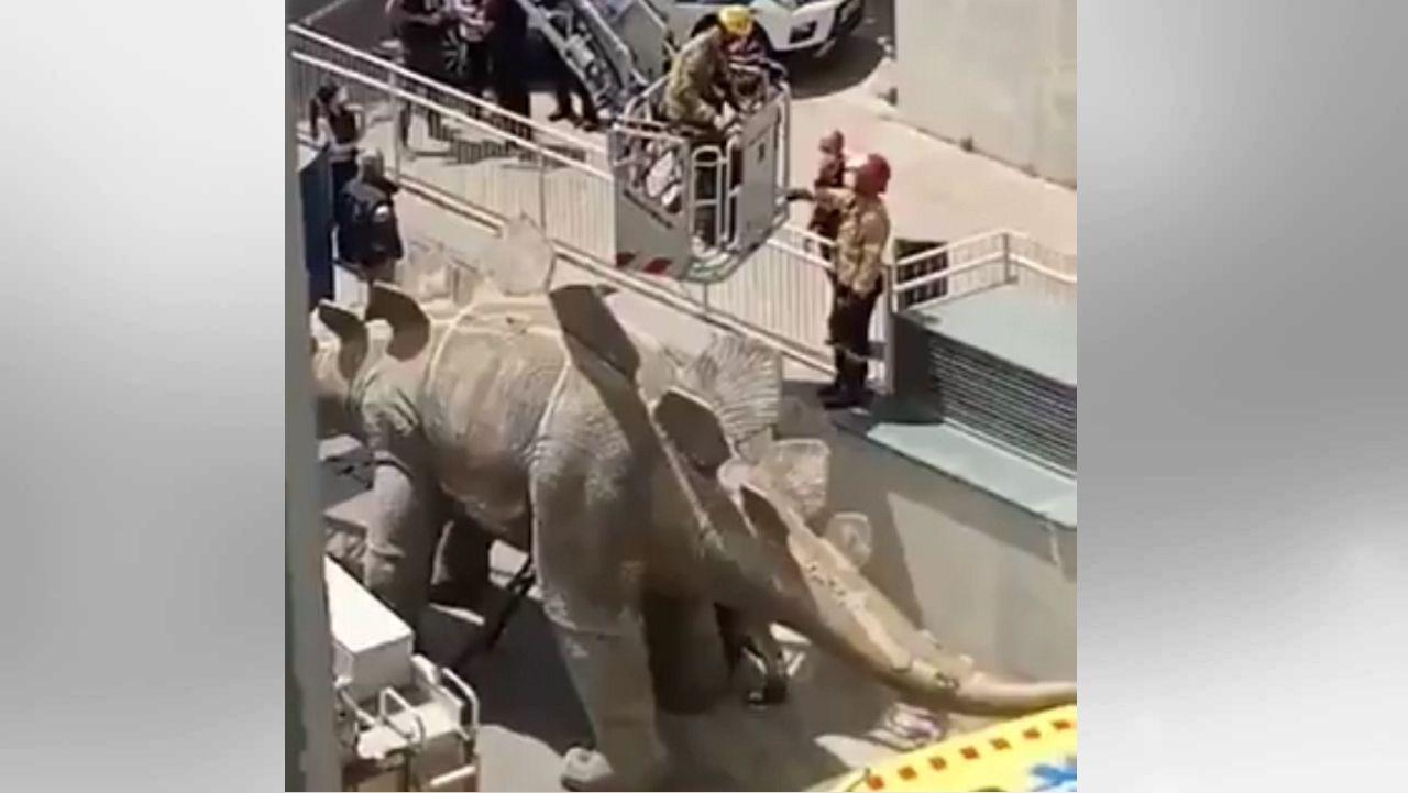 Trágico accidente de un teleférico en el norte de Italia.Imagen capturada de un vídeo de Twitter de El Mirall.net