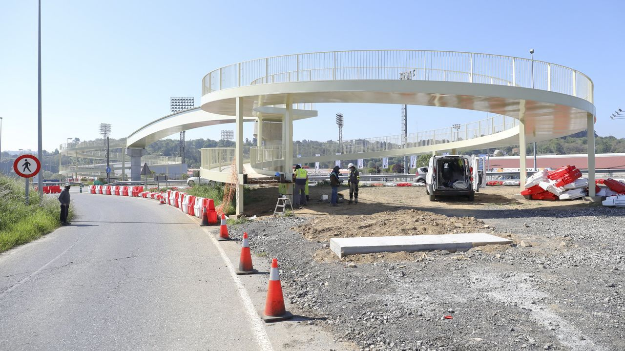 Comienzan los primeros cortes en la N-VI por las obras del Sol y Mar.El PP de Lugo pide limpieza e inspección del puente blanco