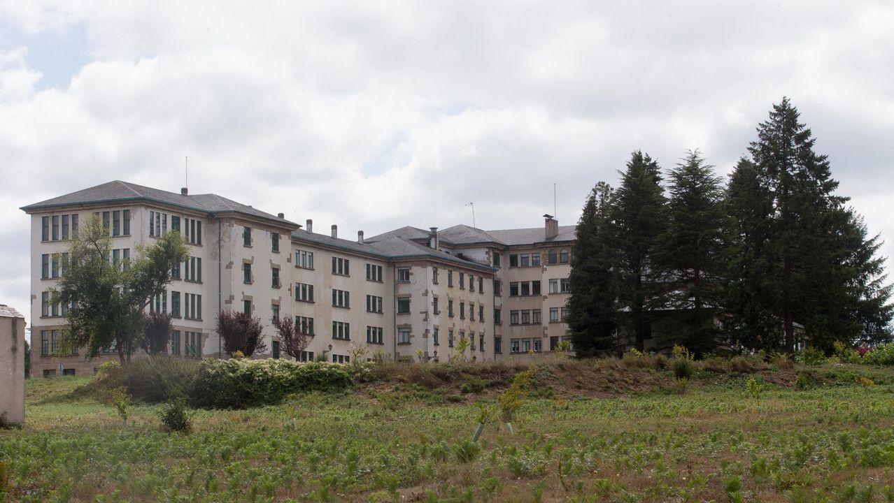El hospital de Calde, en Lugo