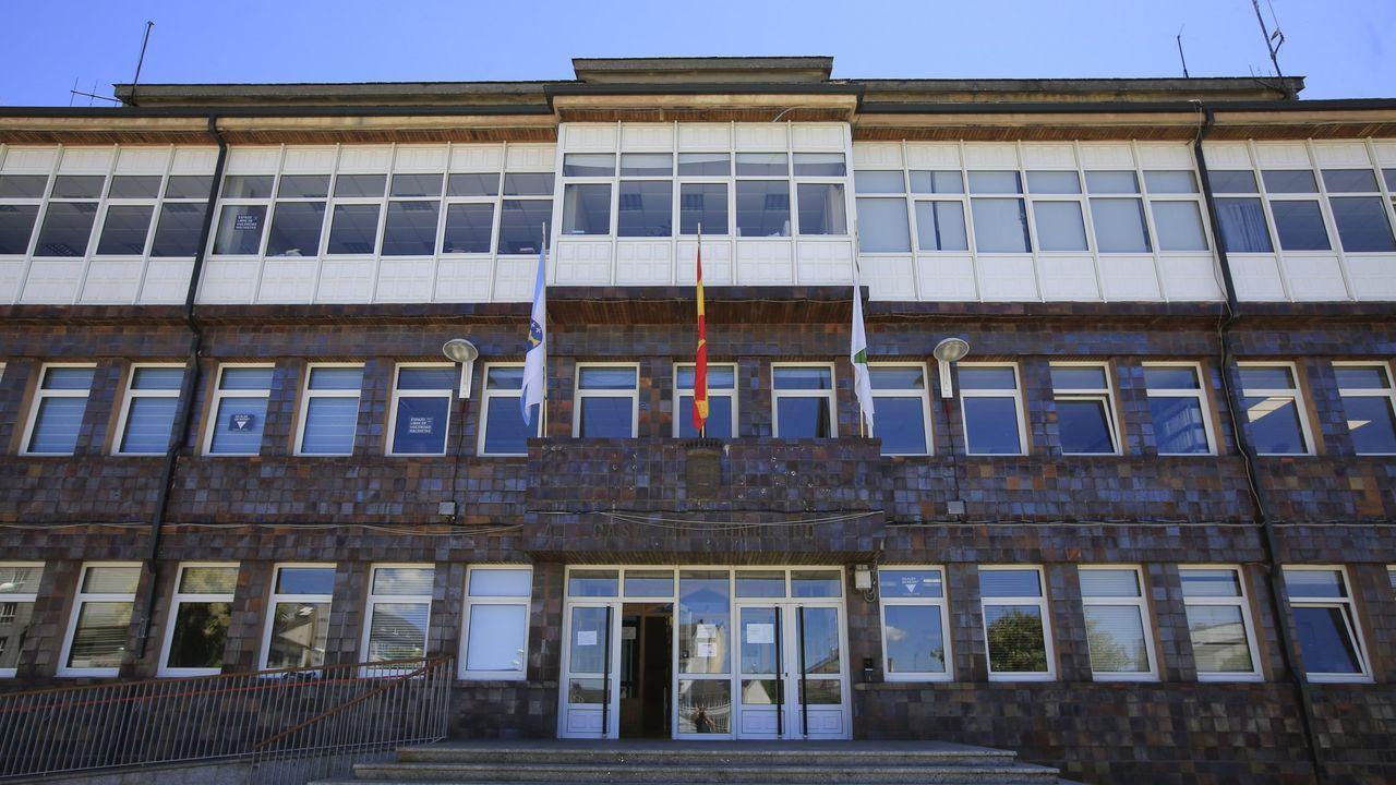 Fachada de la Casa do Concello de Vilalba