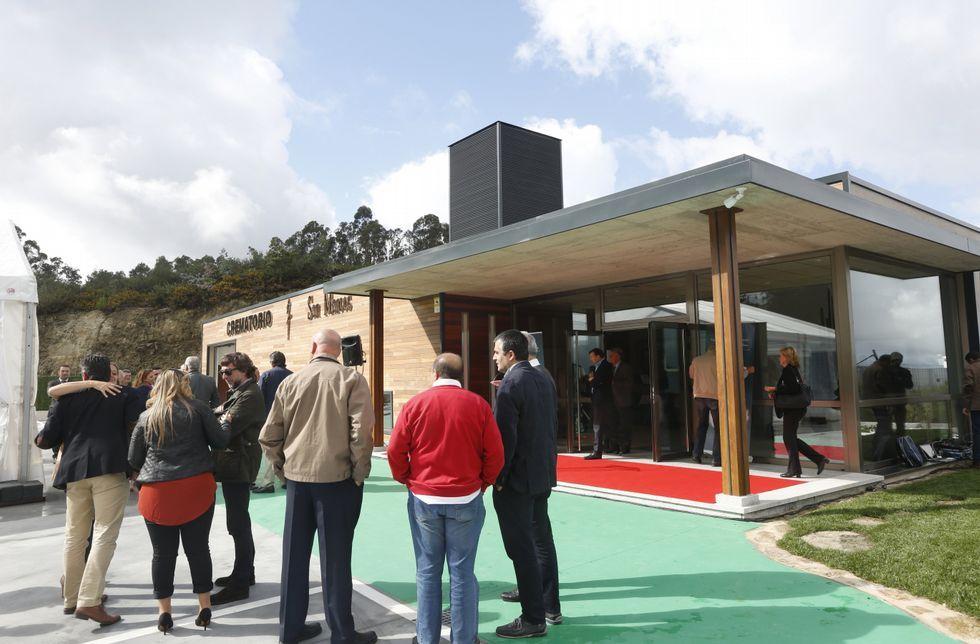 El crematorio de A Reigosa es la última nave que se ha inaugurado en un polígono en la comarca.