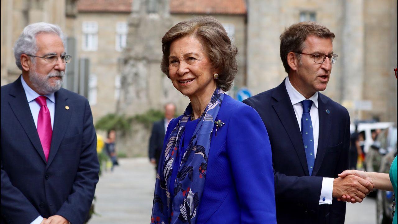 Último adiós a Montserrat Caballé en Barcelona.La reina Sofía inauguró el Congreso Internacional de Investigación en Enfermedades Neurodegenerativas