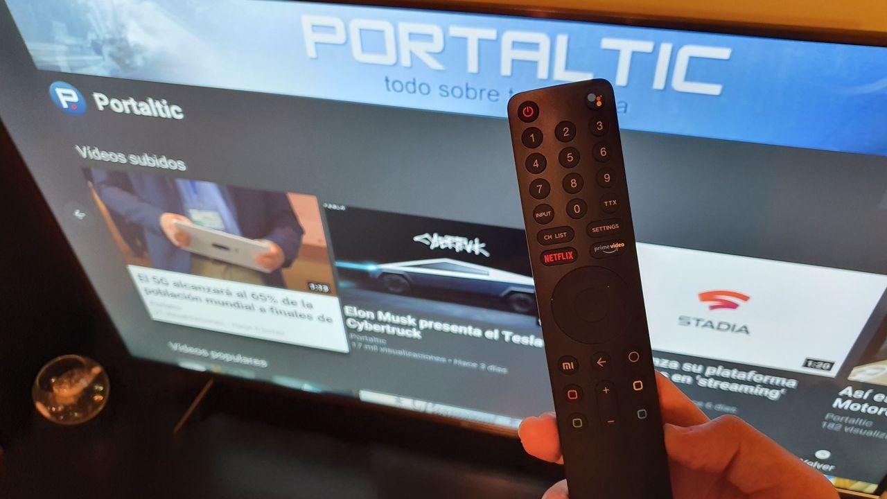 Imagen de un televisor.