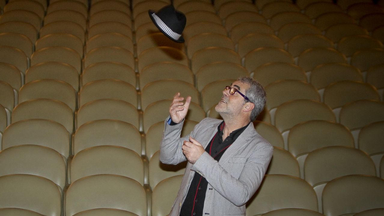 Curtas Vila de Noia, Premier de la serie Fariña.Carlos Blanco