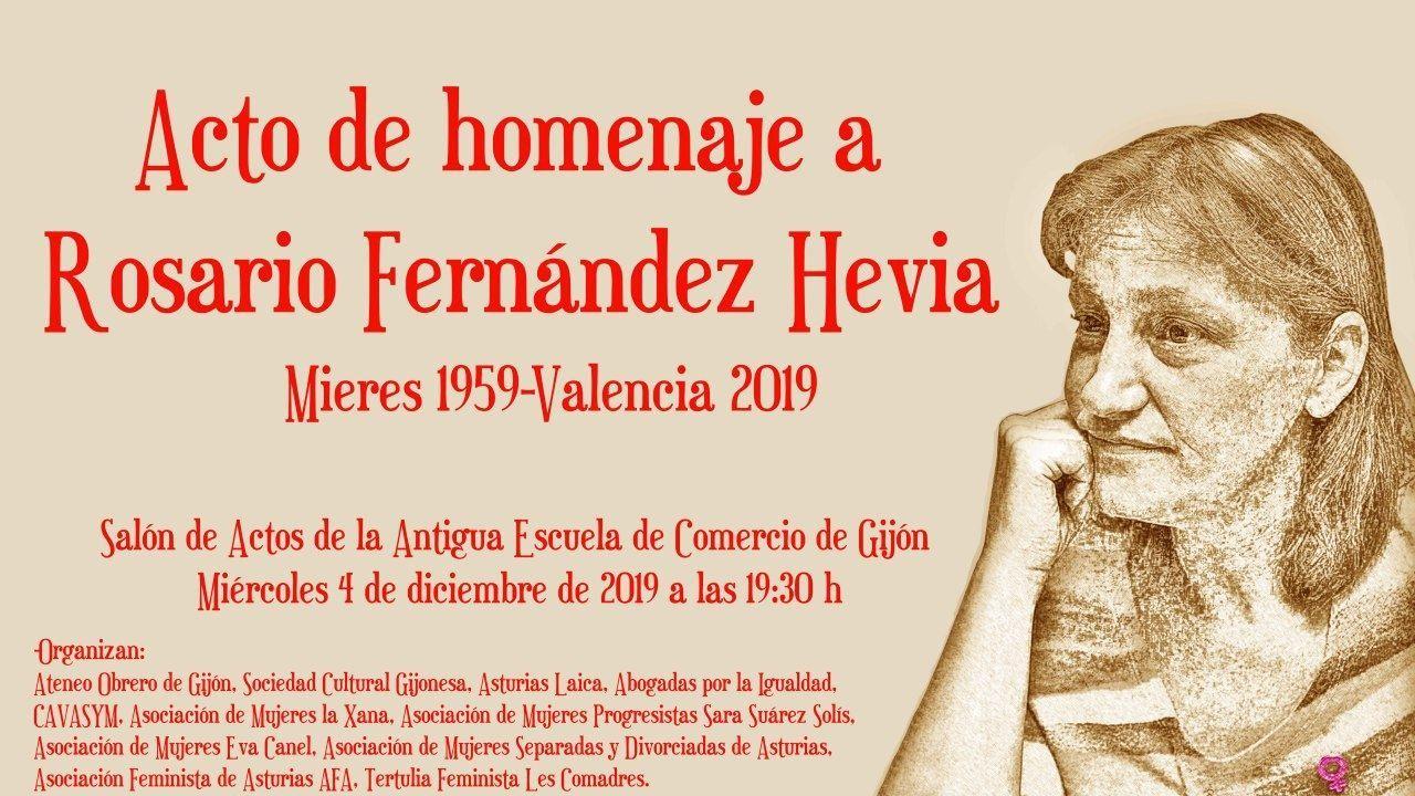 Homenaje a la jueza Charo Fernández Hevia