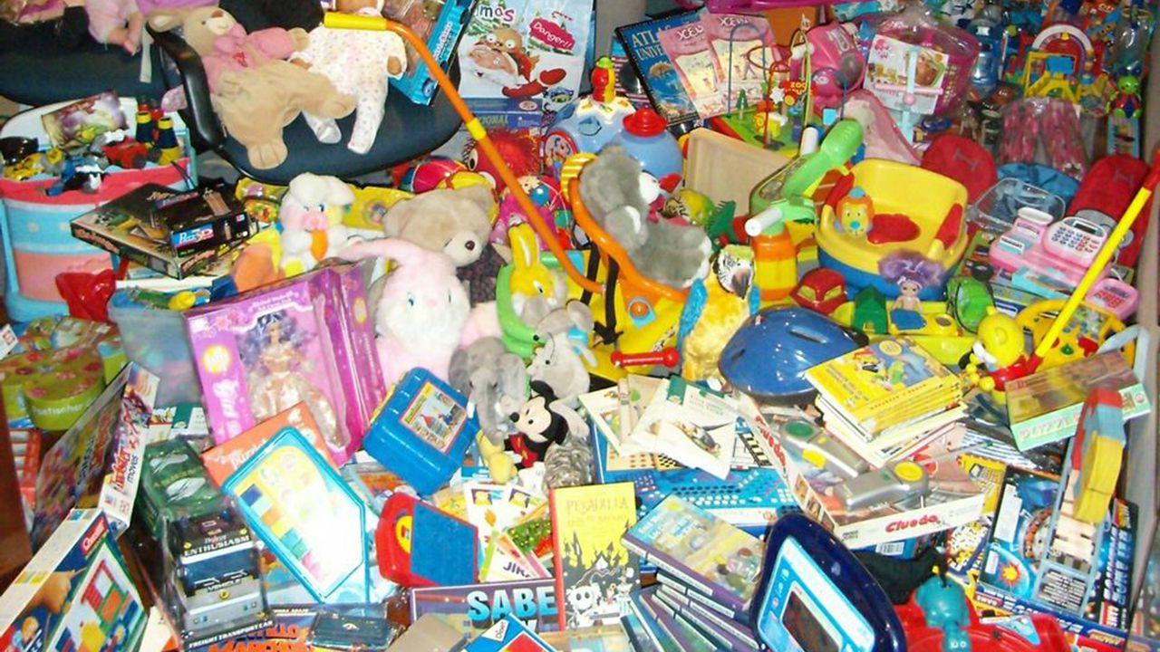 Foto de archivo de una recogida de juguetes
