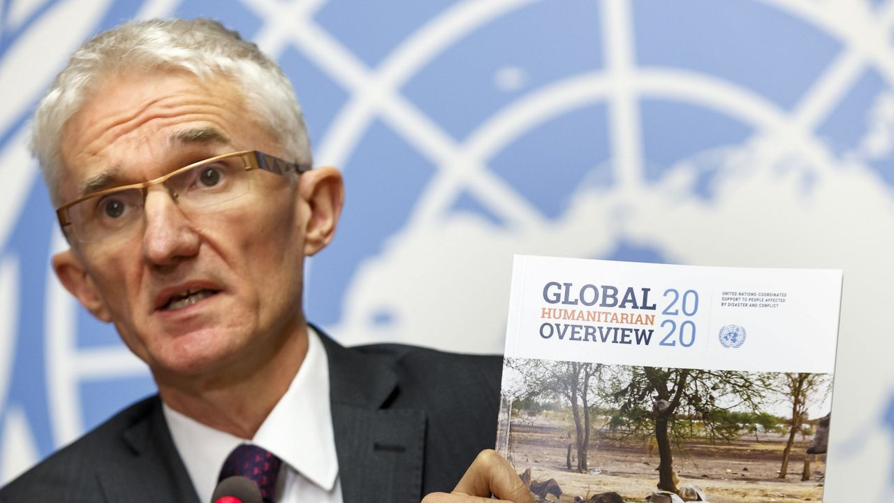 El subsecretario general de la ONU para Asuntos Humanitarios y Ayuda de Emergencia, Mark Lowcock, presentó en Ginebra la lista de necesidades prioritarias para financiar en el 2020