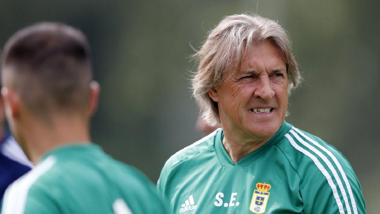 Sergio Egea durante un entrenamiento