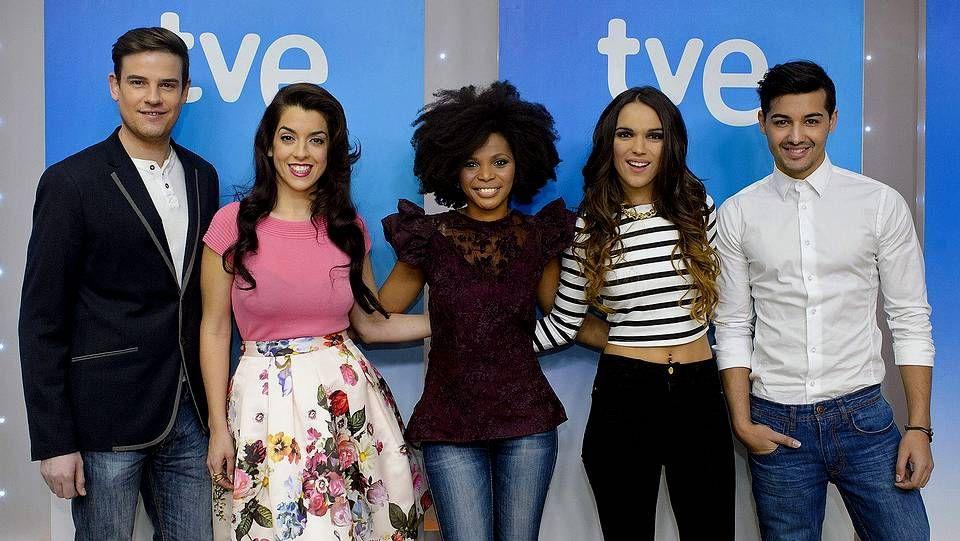 «La Voz Kids»: La actuación final de María.Los cinco candidatos para representar a España en Eurovisión