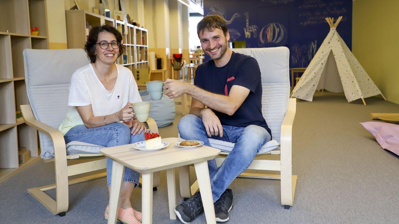 Premios Grelo de Ouro.Fernández Muñiz, en su visita a la Feria de Muestras
