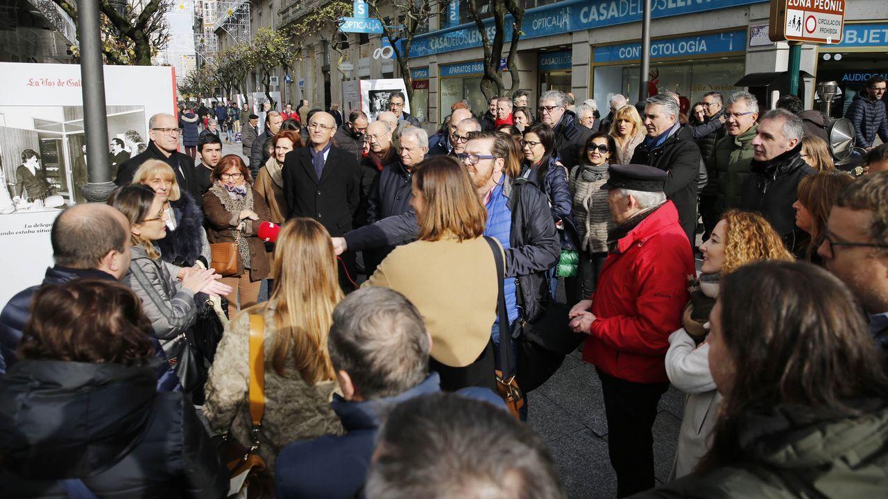 Los 50 años de La Voz de Galicia en Ourense, en imágenes.Un dos traballos gañadores da pasada edición do concurso