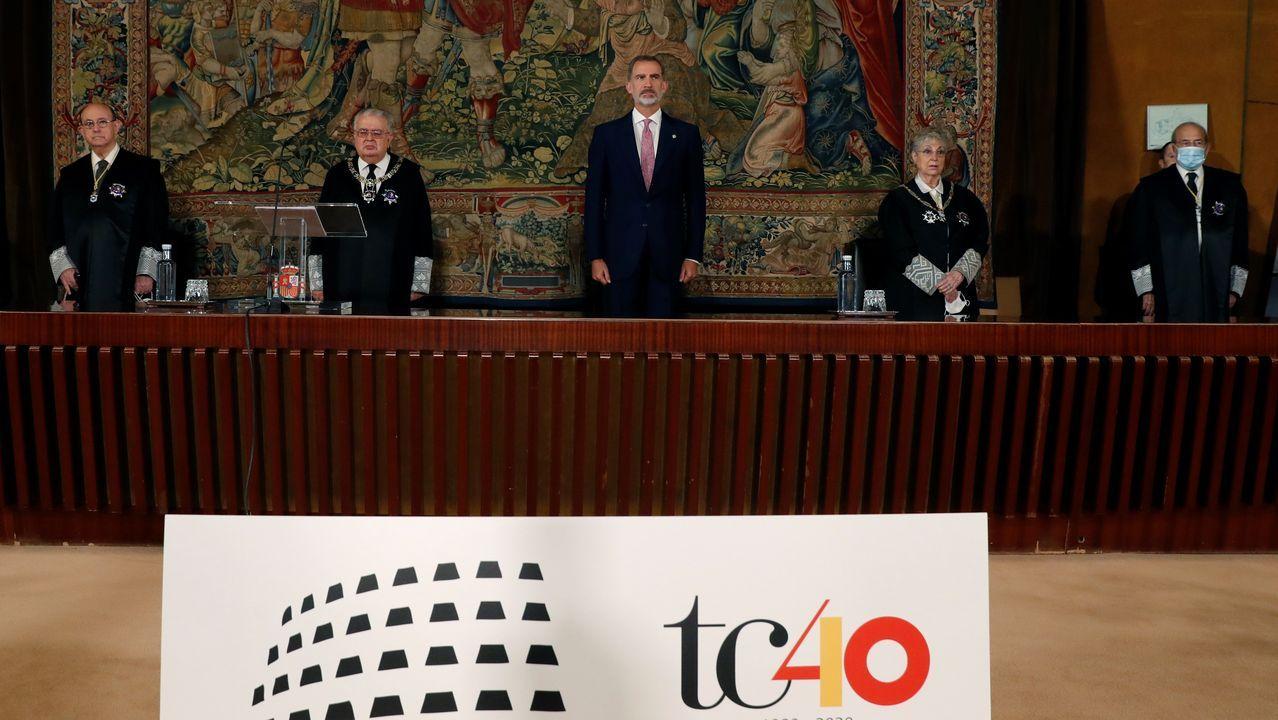 El rey, en el 40 aniversario de la entrada en funcionamiento del Tribunal Constitucional