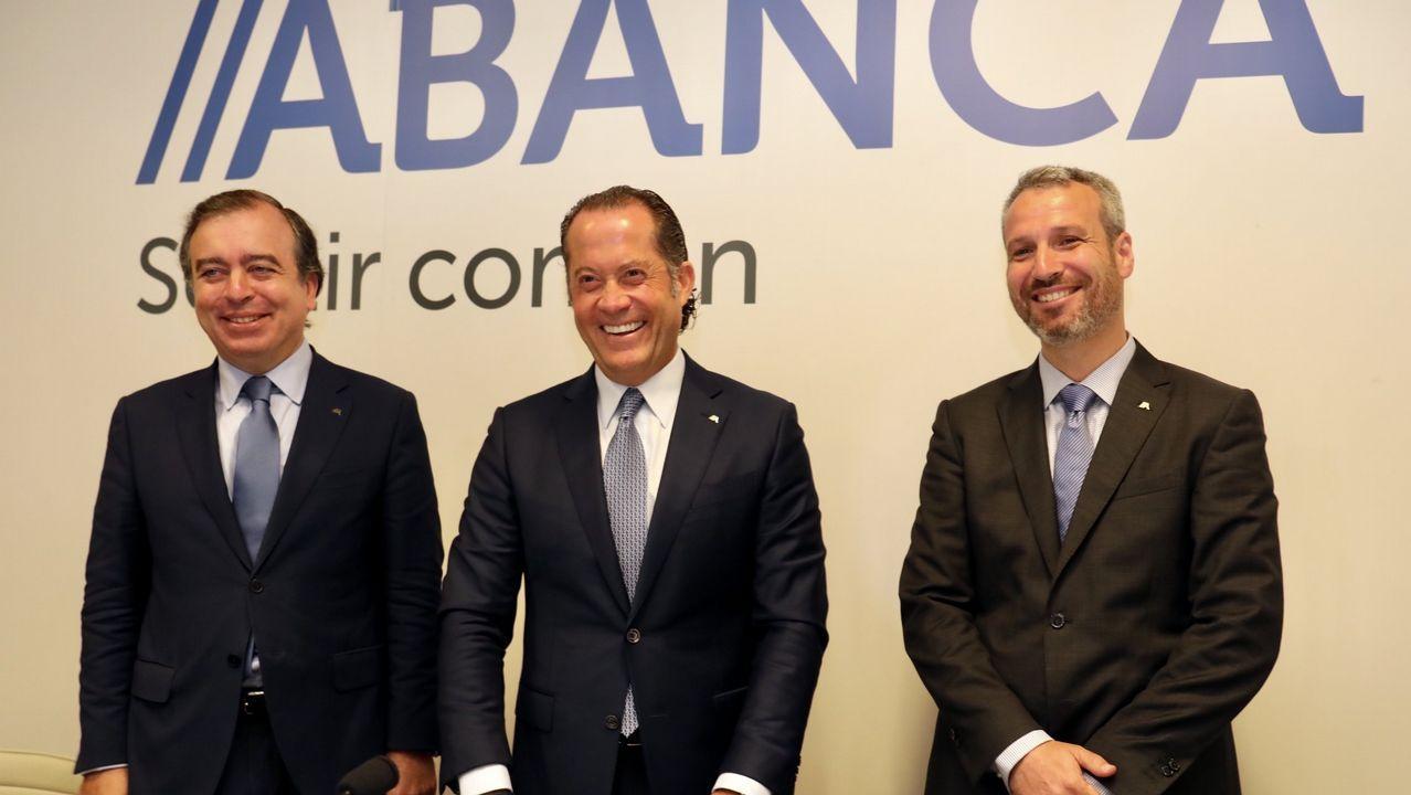 ¿Cómo están integrando las empresas gallegas las nuevas tecnologías?.Oficina de Caixa Geral en Vigo