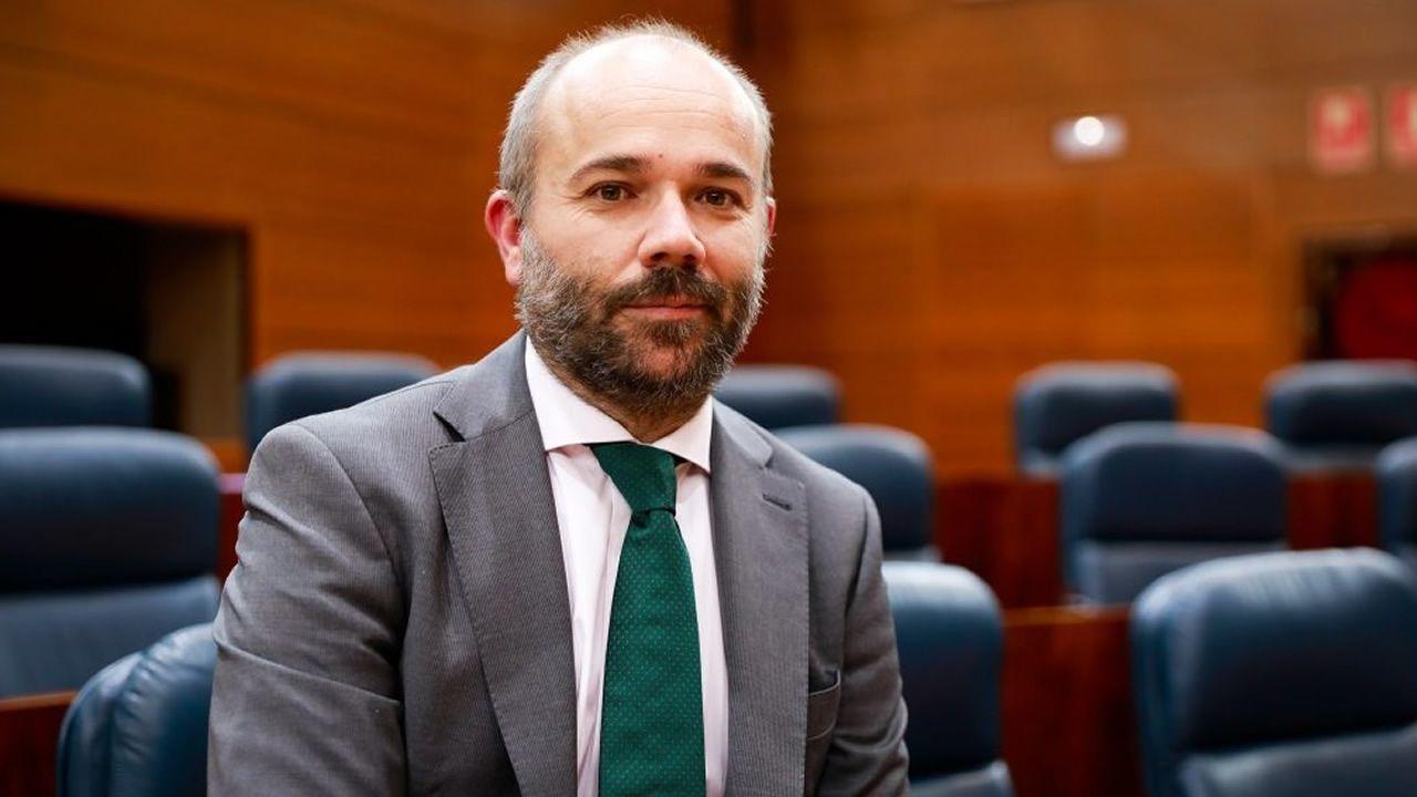 Juan Trinidad (Ciudadanos), elegido presidente de la Asamblea de Madrid.Imagen de archivo de un pleno en el ayuntamiento de Ourense