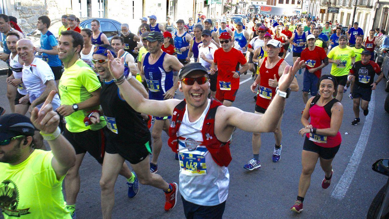 Las mejores imágenes de la carrera Os 21 do Camiño