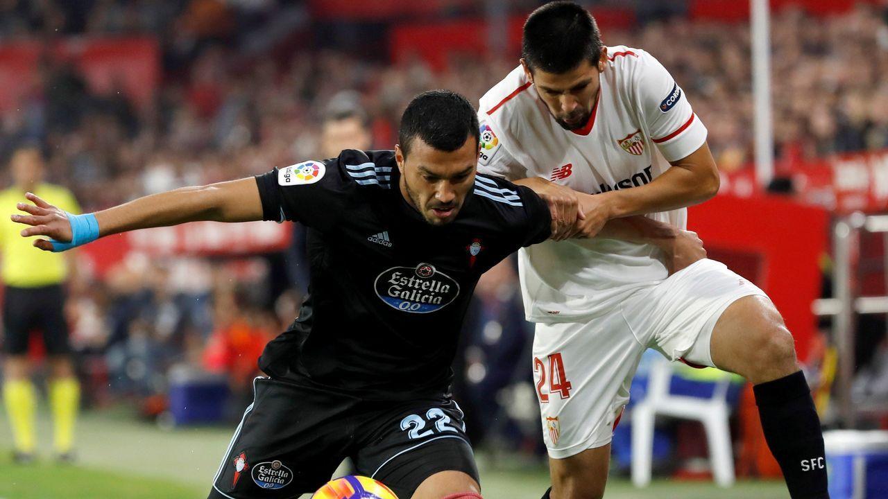 Sevilla - Celta, en imágenes
