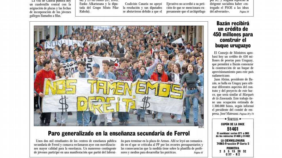 Vicente Gotor vuelve al aula.Manifestación a favor de los Premios Líricos Teatro Campoamor