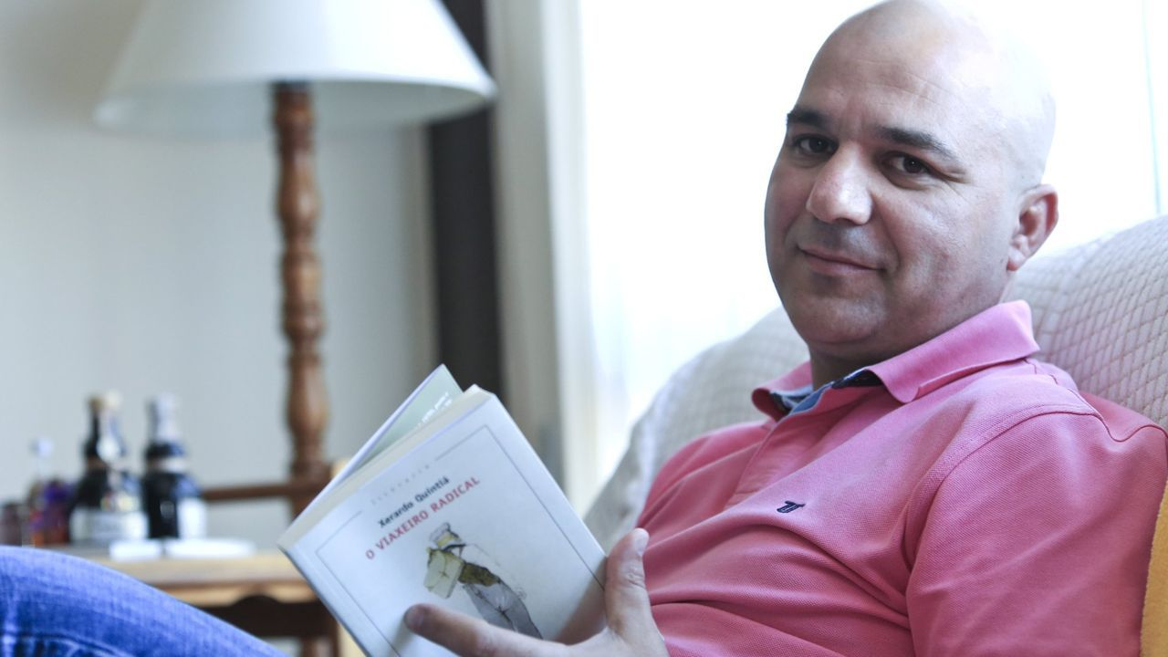 Xerardo Quintiá vén de ser premiado en Vilalba