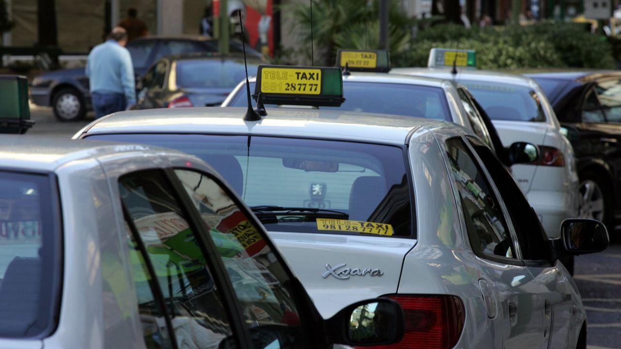 Taxis en Coruña