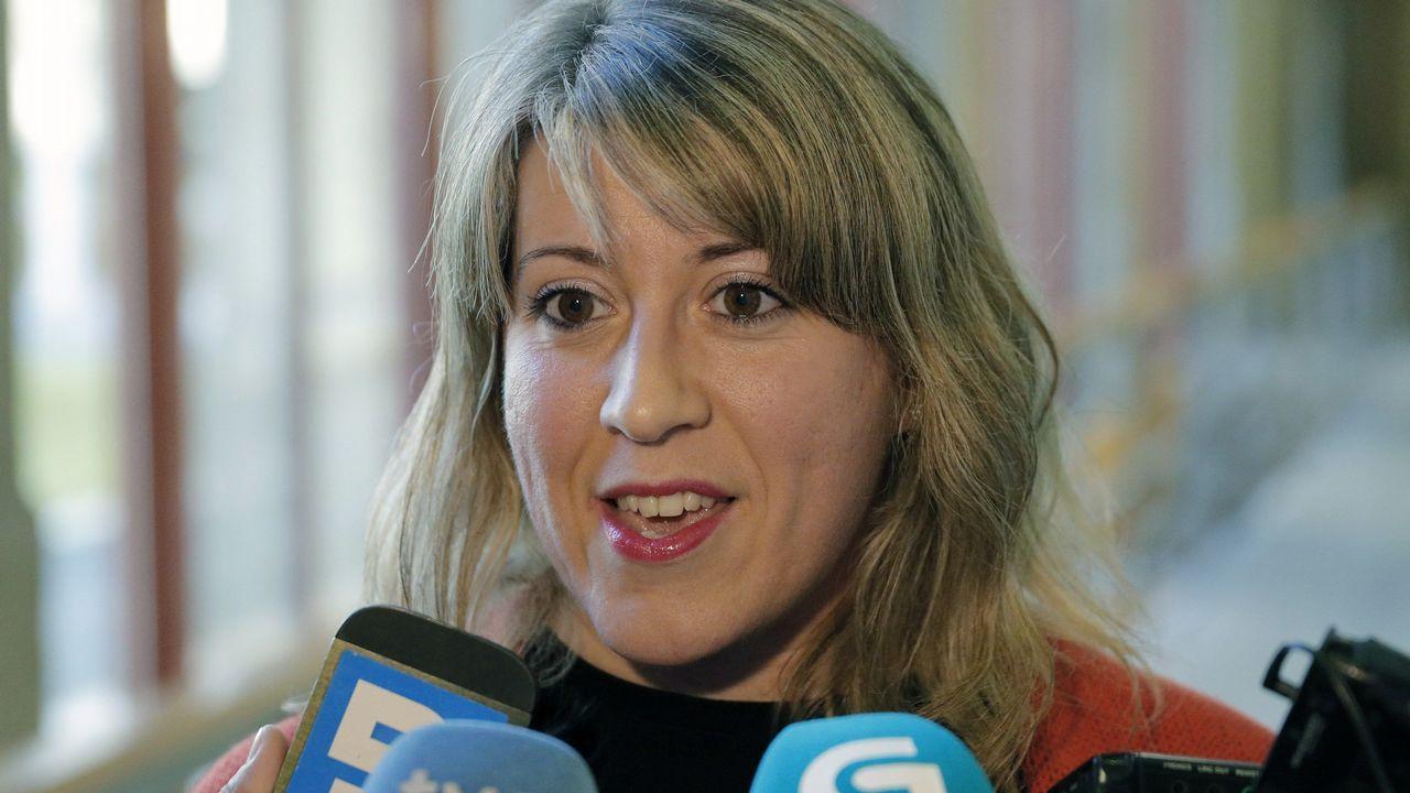 Bescansa y Gómez-Reino, en la asamblea ciudadana de Podemos