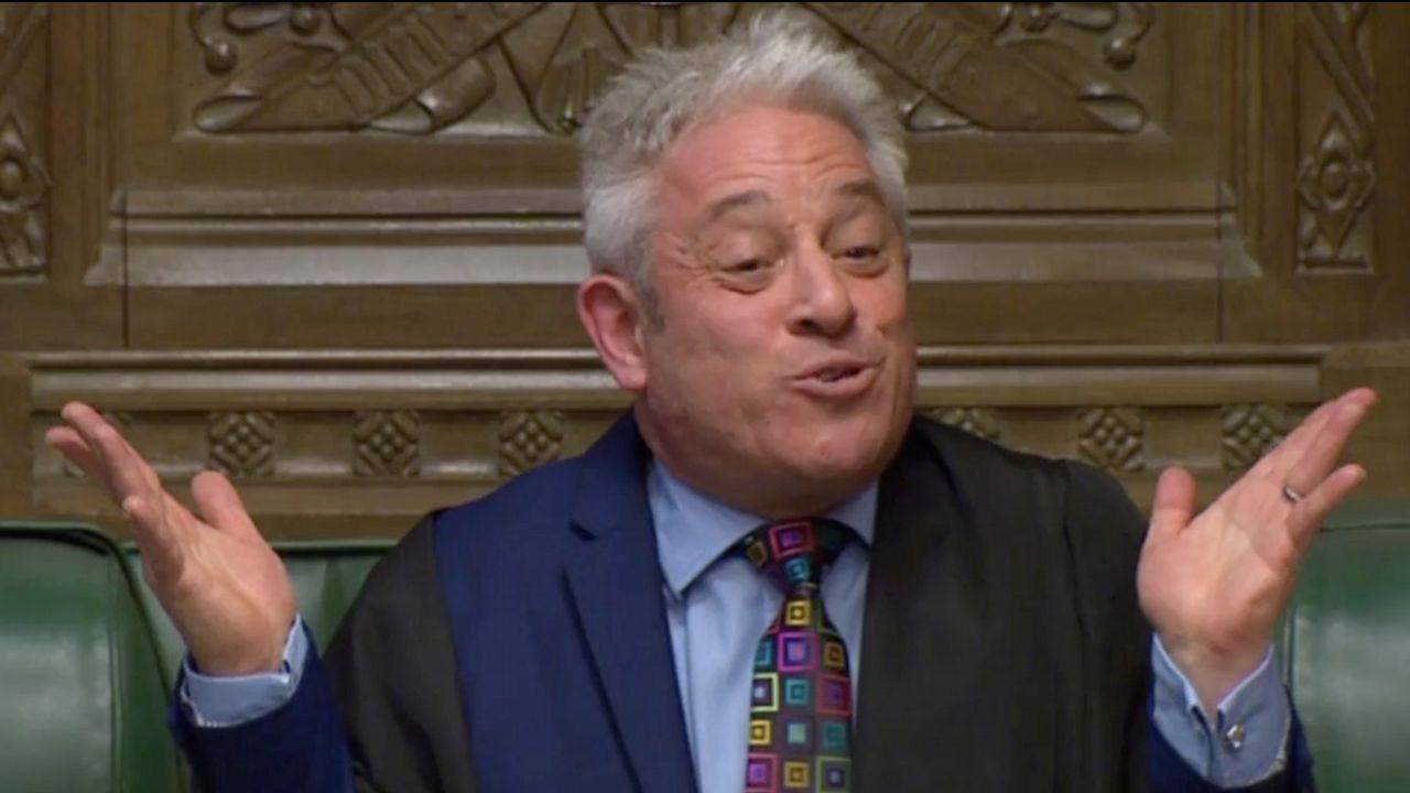 Bercow frustró el plan de la primera ministra para tratar de desbloquear su texto en el Parlamento