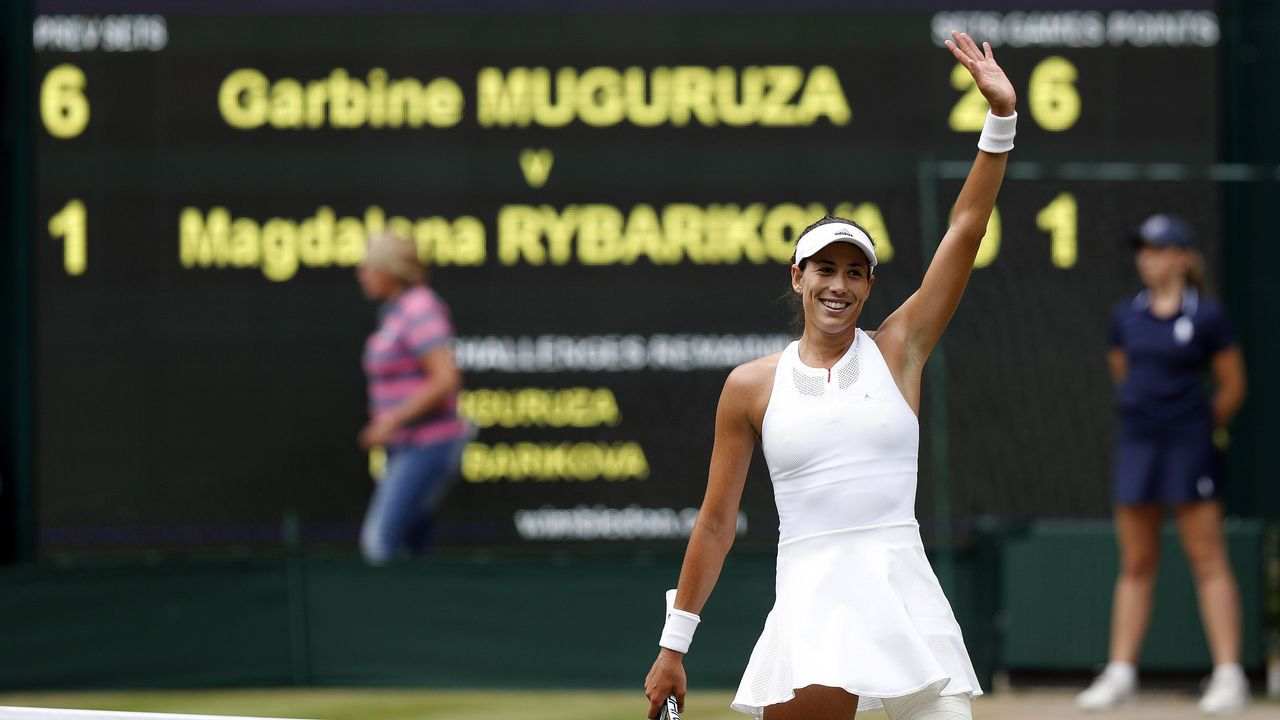 Muguruza conquista Wimbledon