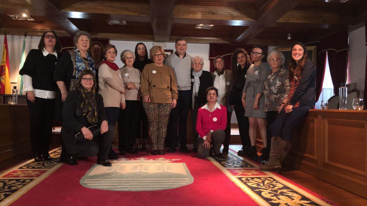 Pleno de Mulleres en Ortigueira