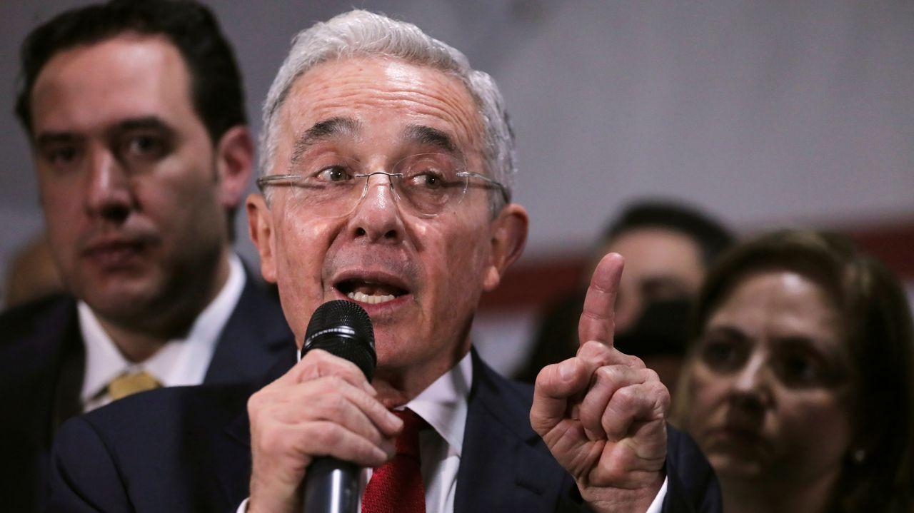 Álvaro Uribe, en una foto de archivo del 2019