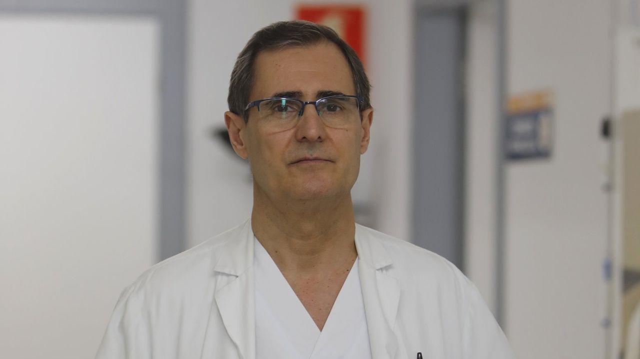 Los test rápidos para la detección del covid-19 comenzaron a realizarse ayer, de mañana y de tarde, en el Colegio de Enfermería de Ourense
