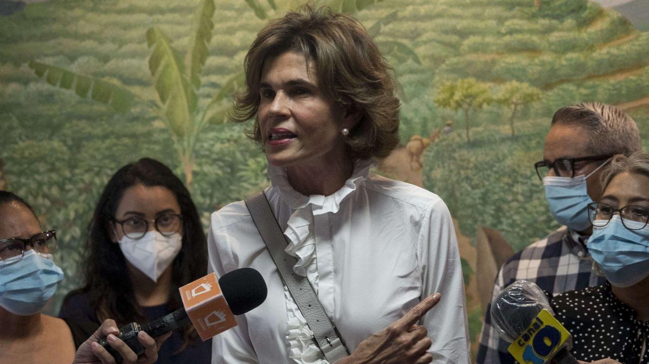 Cristiana Chamorro es hija de la exmandataria nicaragüense Violeta Barrios de Chamorro